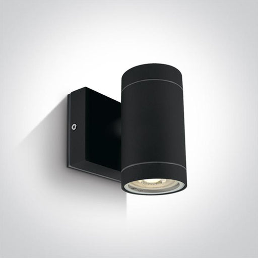 ONE Light Black Wall Gu10 35w Ip54 5291889059974 67130E/B
