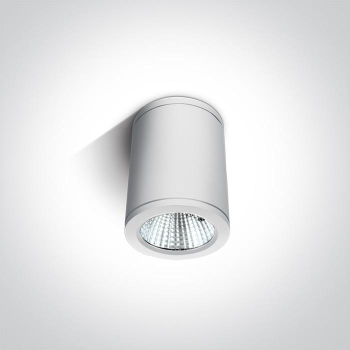 WHITE COB LED 6W WW IP54 100-240V