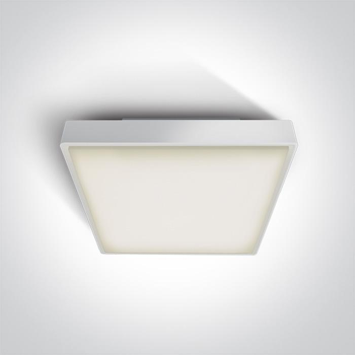 WHITE LED PLAFO 30w WW IP65 230v