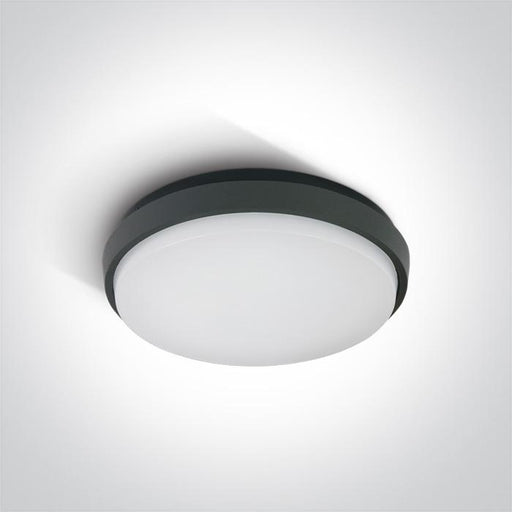 ONE Light Anthracite Ceiling Mounted Led 30w Warm White Ip54 100-240v 5291889040378 67363/AN/W