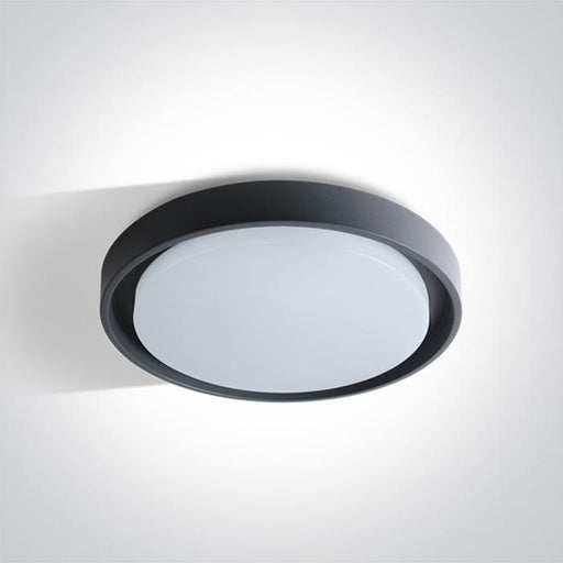 ONE Light Anthracite Ceiling Mounted Led 30w Warm White Ip54 100-240v 5291889046608 67384/AN/W