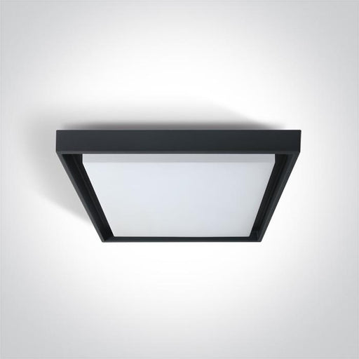 ONE Light Anthracite Ceiling Mounted Led 30w Warm White Ip54 100-240v 5291889046615 67384A/AN/W