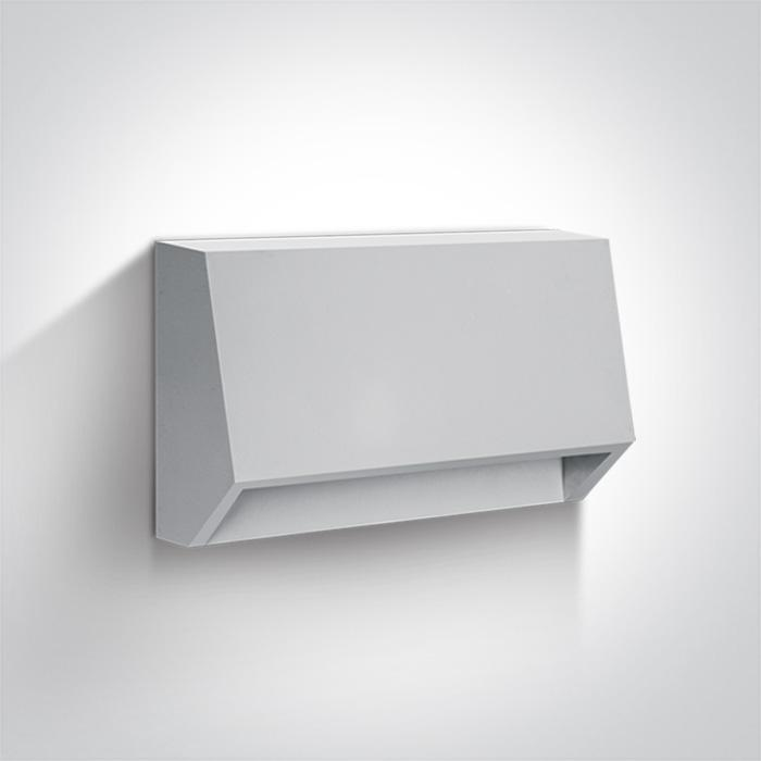 WHITE LED WALL LIGHT 1,5W WW DARK LIGHT IP65 230V
