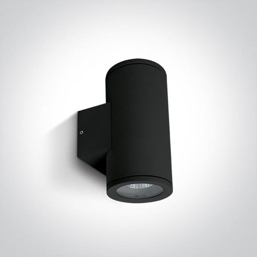 ONE Light Black Wall Gu10 2x35w Ip54 5291889057543 67400B/B