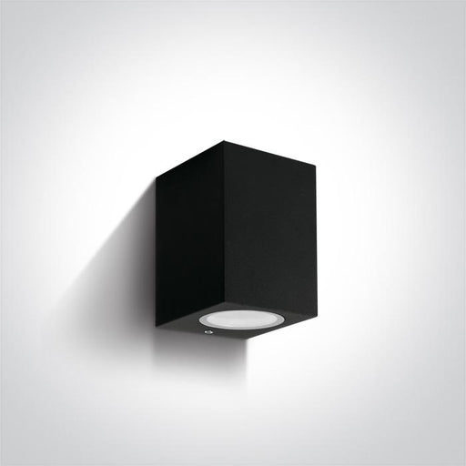 ONE Light Black Wall Light Gu10 7w Ip65 5291889060161 67426/B