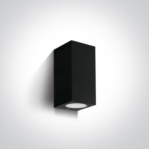 ONE Light Black Wall Light Gu10 2x7w Ip65 5291889060178 67426A/B