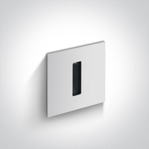 WHITE RECESSED 3W WW DARK LIGHT IP54 350mA