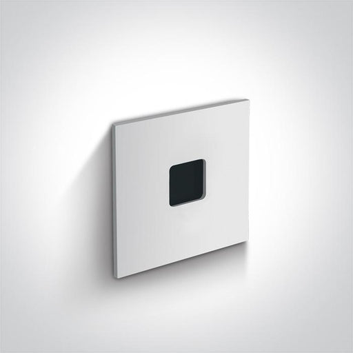 WHITE RECESSED 1W WW DARK LIGHT IP54 350mA