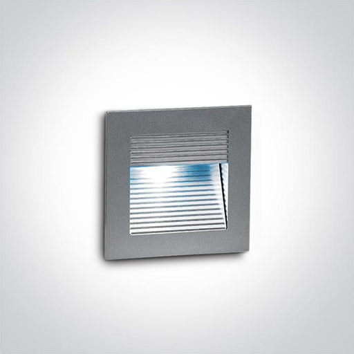 ONE Light Grey Wall Recessed Green Ip20 5291889008538 68005/G/GR