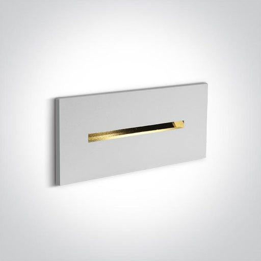 WHITE RECESSED 2W WW DARK LIGHT IP20 700mA