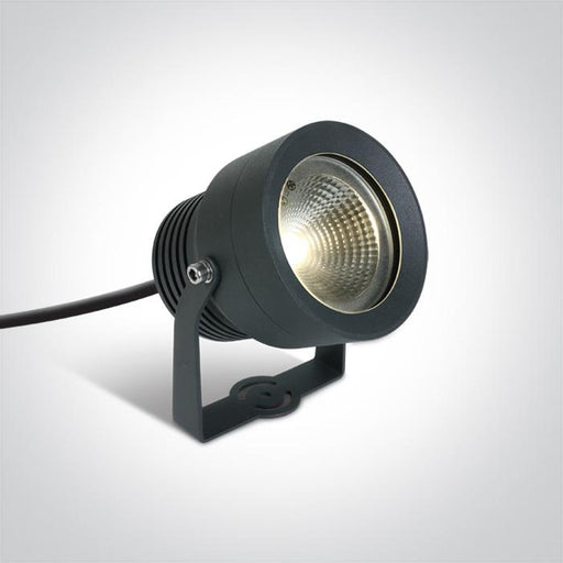 ONE Light Anthracite Led 20w Warm White 50d Ip65 Spike 230v 5291889040125 7047/AN/W
