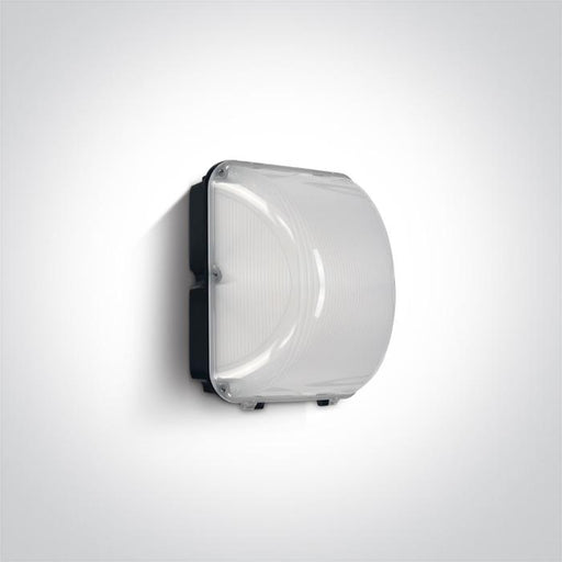 ONE Light Ceiling/wall Light Cob Led 50w Cool White Ip65 100-240v Black 5291889045397 7056/C