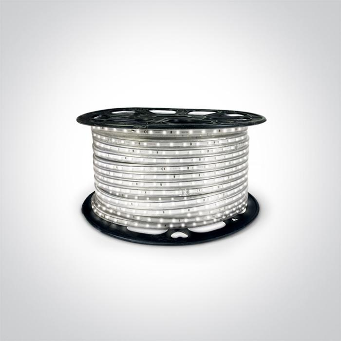 SMD LED ROPE 6w/mtr CW IP65 230v