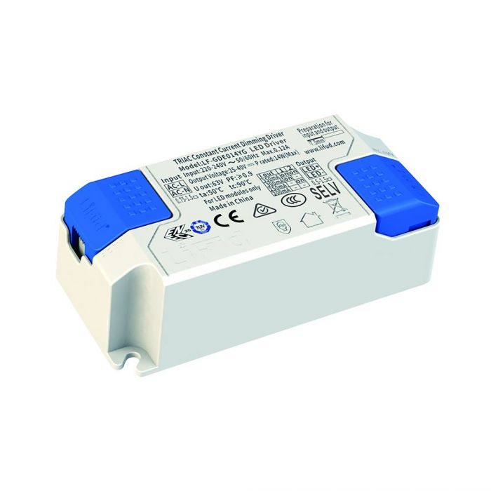 Toplightco LED DRIVER - 14W Constant Current | Dimmable | 350mA Output Current 86830
