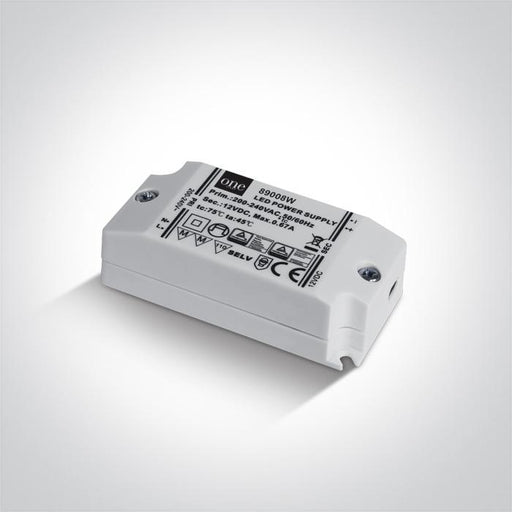 ONE Light Led Driver 12v Dc 0-8w Ip20 Input 230v 5291889046349 89008W