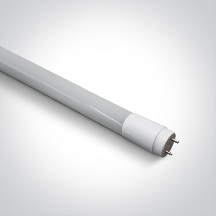 ONE Light T8 Led Glass Tube 18w Cool White 120cm Frosted 100-240v 5291889032069 9018L/C