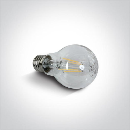 ONE Light Retro Led E27 4w Ewarm White 230v 5291889037484 9G03R/EW/E