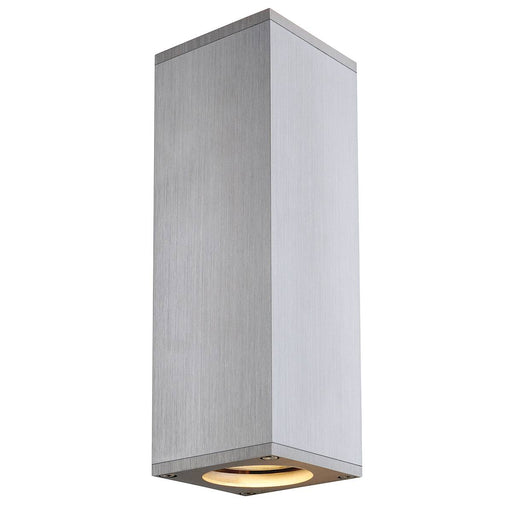 SLV SLV 1000329 THEO UP/DOWN, GU10, wall light, brushed aluminium, max. 2x50W 4024163180757 1000329