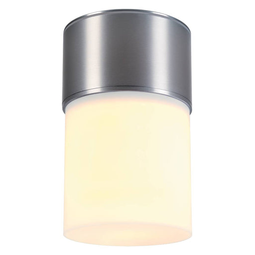 SLV SLV 1000338 ROX ACRYL CEILING, E27, outdoor ceiling light, brushed aluminium, max. 20W, IP44 4024163180832 1000338