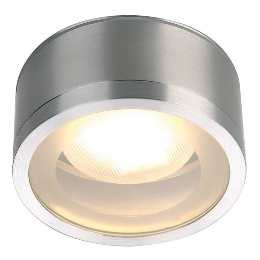 SLV SLV 1000339 ROX CEILING OUT, TCR-TSE, outdoor ceiling light, brushed aluminium, max. 11W, IP44 4024163180849 1000339