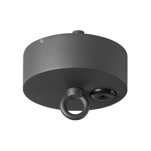 SLV SLV 1000398 Ceiling canopy for PHOTONIA Outdoor Pendant luminaire, anthracite, IP44 4024163186902 1000398
