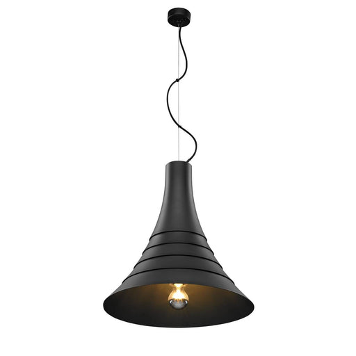 SLV SLV 1000433 BATO 45 PD, Indoor pendant light, black, E27, max. 60W 4024163187251 1000433