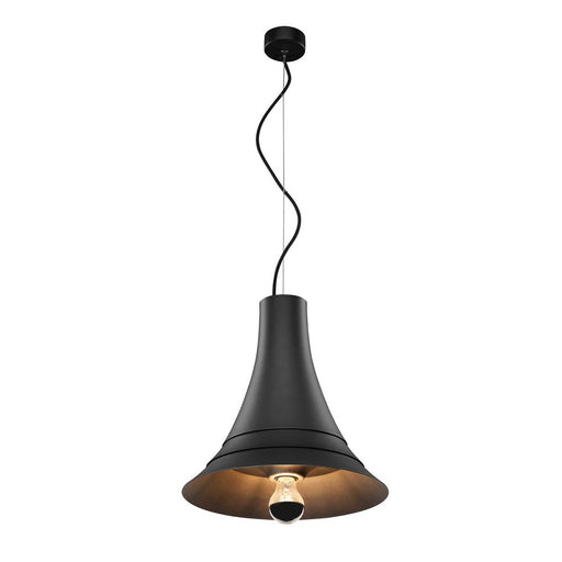 SLV SLV 1000434 BATO 35 PD, Indoor pendant light, black, E27, max. 60W 4024163187268 1000434