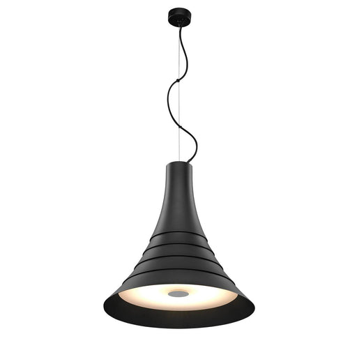 SLV SLV 1000435 BATO 45 PD, LED Indoor pendant light, black, LED, 2700K 4024163187275 1000435