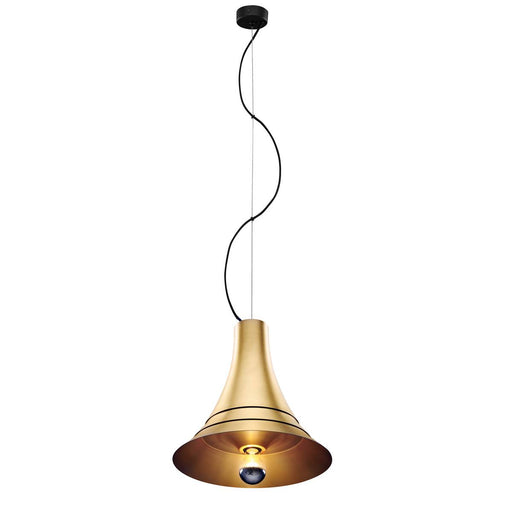 SLV SLV 1000439 BATO 35 PD, Indoor pendant light, brass, E27, max. 60W 4024163187312 1000439