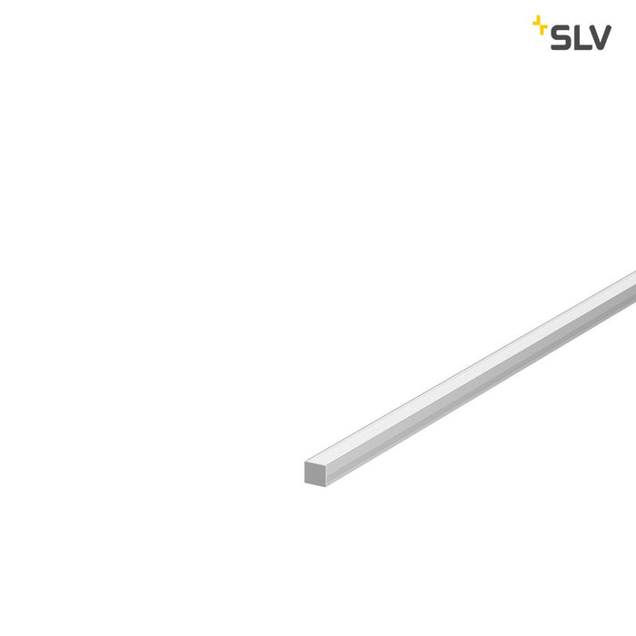 SLV SLV 1000478 GRAZIA 10 Endcap for GRAZIA Surface profile standard, 2 pcs., flat Version, alu 4024163187701 1000478