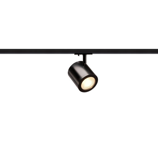 ENOLA_C LED Spot for 1 Circuit Track Light Systemase High-voltage Tracksystem, 3000K, black, 55°, incl. 1 Phase adapter