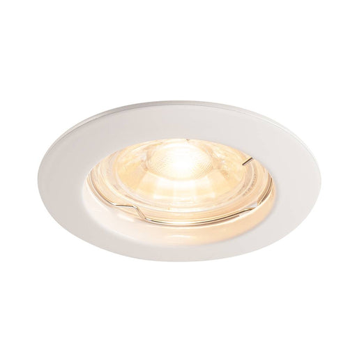 SLV SLV 1000714 PIKA GU10, Recessed ceiling luminaire, non-adjustable, white, max. 50W 4024163190060 1000714