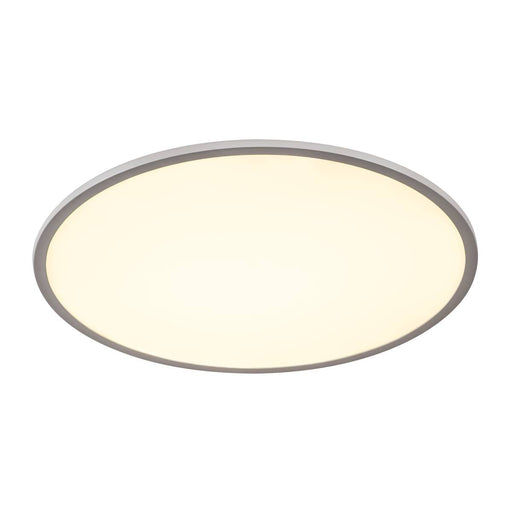 SLV SLV 1000785 PANEL 60 round, LED Indoor surface-mounted ceiling light, silver-grey, 3000K 4024163190770 1000785