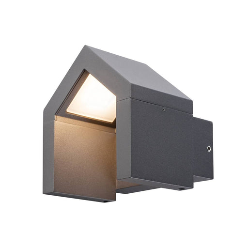 SLV SLV 1000797 RASCALI WL, LED Outdoor surface-mounted wall light, anthracite, 3000K 4024163190893 1000797