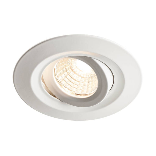 SLV SLV 1000833 KINI LED Outdoor Recessed ceiling dimmable luminaire, white, 3000K, 60°, IP65 4024163191258 1000833