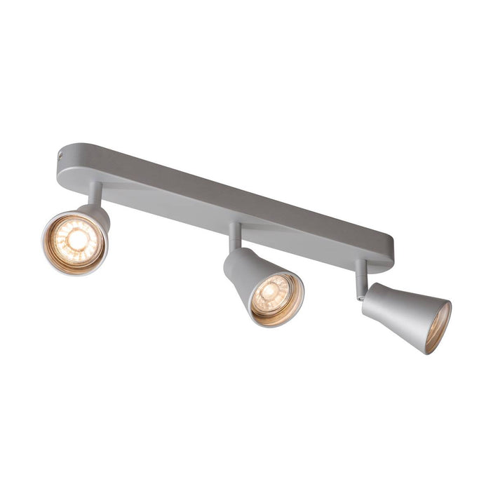 SLV SLV 1000894 AVO CW Triple, Indoor surface-mounted wall and ceiling light, GU10, silver, max. 50W 4024163191869 1000894