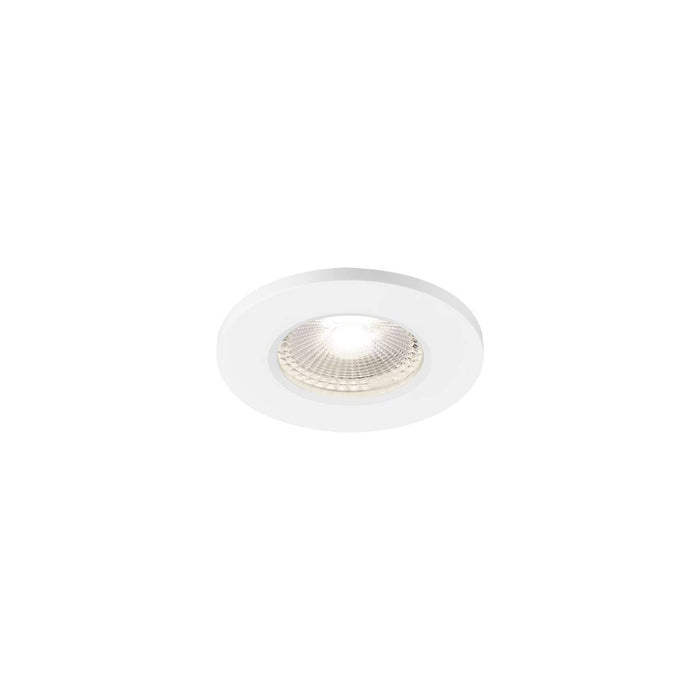 SLV SLV 1001018 KAMUELA ECO LED Fire-rated Recessed ceiling luminaire, white, 4000K, 38°, dimmable, IP65 4024163193016 1001018