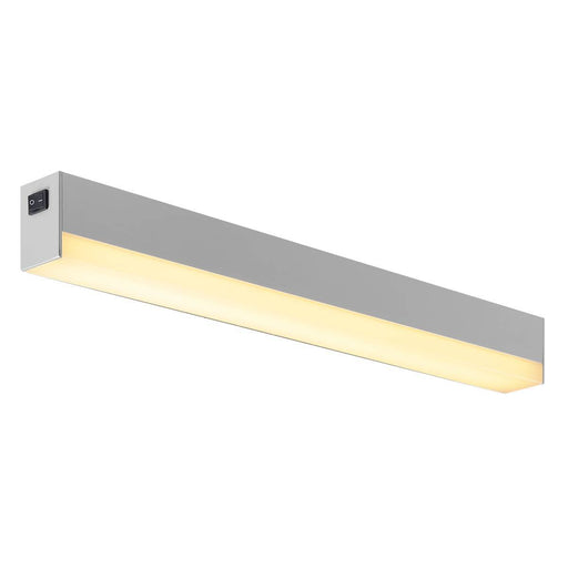 SIGHT LED, wall and ceiling light, with switch, 600mm, silver