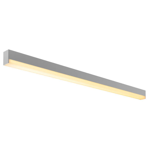 SIGHT LED, wall and ceiling light, 1200mm, silver-grey