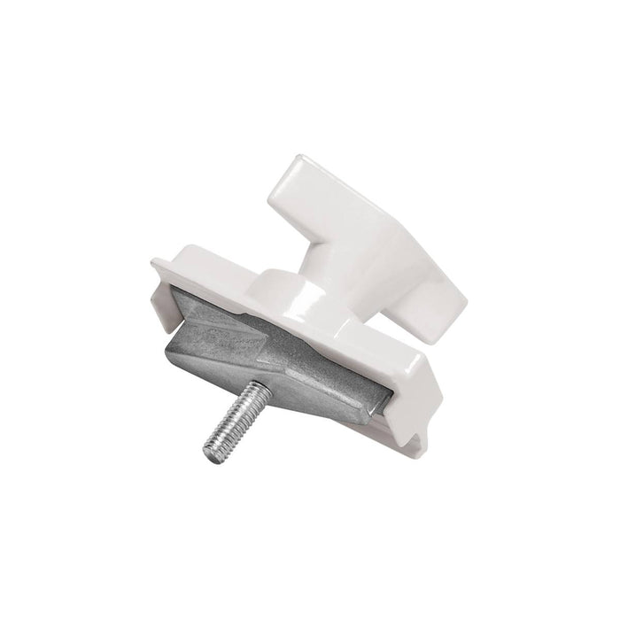 SLV SLV 1001395 Light adapter, mechanical for S-TRACK 3-Circuit track, traffic white 4024163196895 1001395