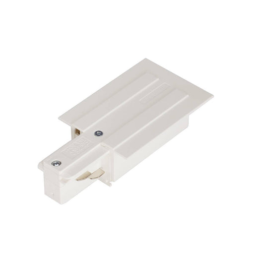 SLV SLV 1001533 EUTRAC feed-in for 3-Circuit recessed track, traffic white, earth left 4024163200172 1001533