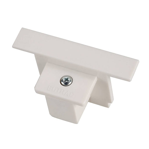SLV SLV 1001538 EUTRAC end cap for 3-Circuit recessed track, traffic white 4024163200226 1001538