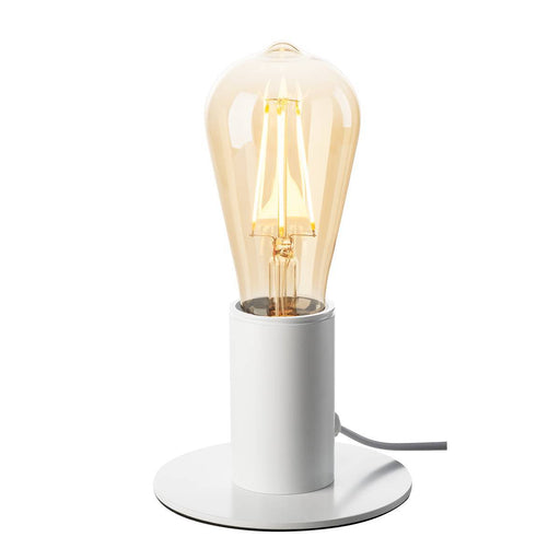 FITU TL, indoor table lamp, white, E27, max. 10W
