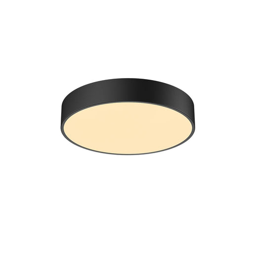 SLV SLV 1001883 MEDO 40 CW, CORONA, LED Outdoor surface-mounted wall and ceiling light, TRIAC, black, 3000/4000K 4024163221290 1001883