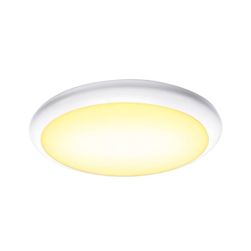 SLV SLV 1001910 RUBA 16 CW, LED Outdoor surface-mounted wall and ceiling light, white, IP65, 3000/4000K 4024163221511 1001910