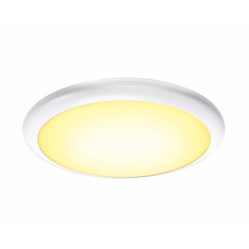 SLV SLV 1001911 RUBA 20 CW, LED Outdoor surface-mounted wall and ceiling light, white, IP65, 3000/4000K 4024163221528 1001911