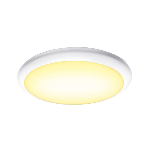 SLV SLV 1001913 RUBA 16 CW sensor, LED Outdoor surface-mounted wall and ceiling light, white IP65 3000/4000K 4024163221542 1001913
