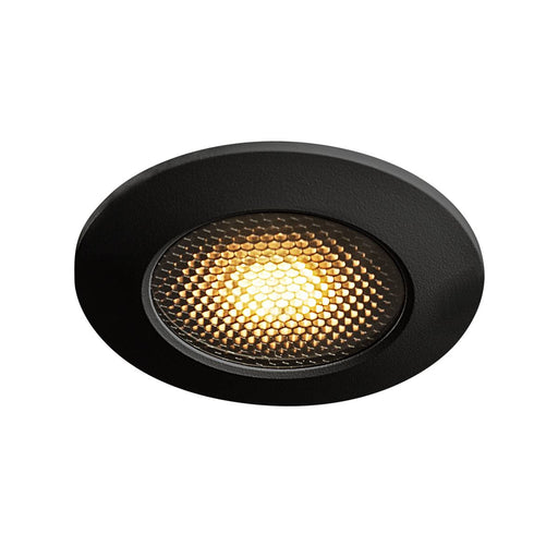 VARU QPAR51 DL, outdoor recessed ceiling light, black, IP20/65
