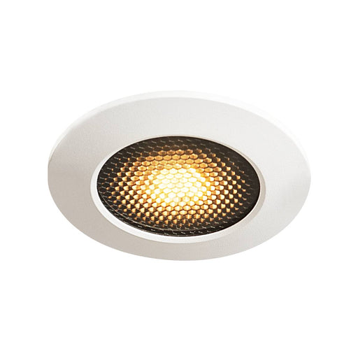 VARU QPAR51 DL, outdoor recessed ceiling light, black/white, IP20/65