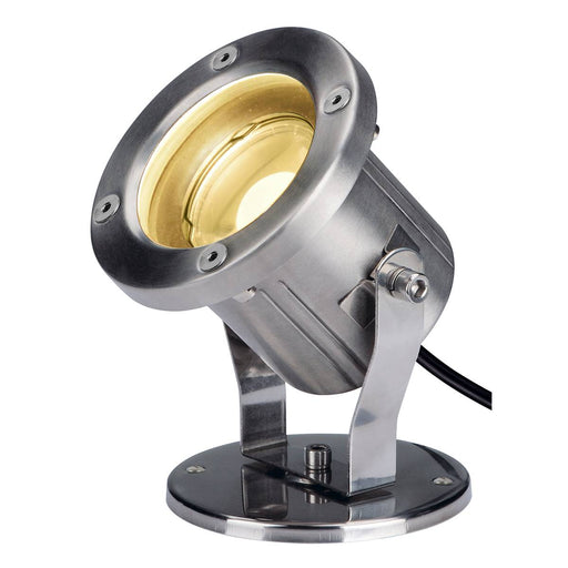 SLV SLV 1001962 NAUTILUS, LED outdoor ground spike luminaire, stainless steel 316, IP55, 3000K 4024163221931 1001962